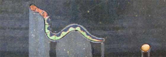 Guttorm Guttormsgaards labyrint, detalj