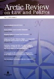 Arctic Review on Law and Politics