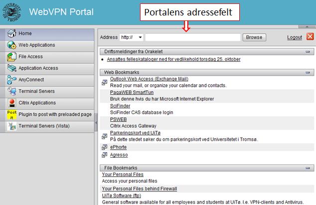 47a8f26b8 VPN Portal (Web)   UiT