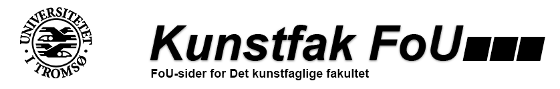 www.kunstfak.no - FoU sider for det Kunstfaglige fakultet