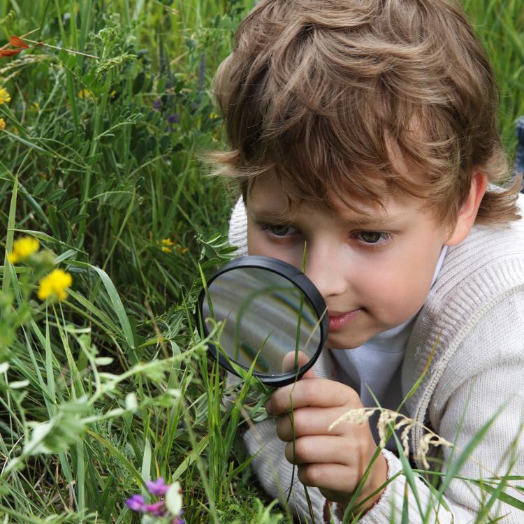 Utforskende barn