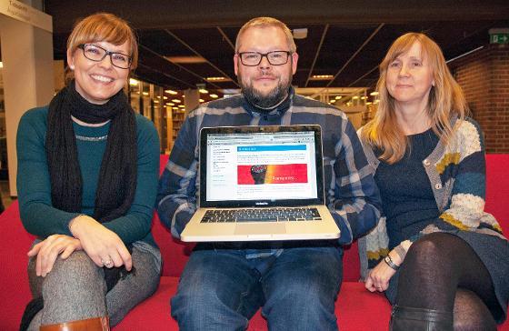 Helene N. Andreassen (t.v.), Mark Stenersen og Mariann Løkse håper kurset kan være nyttig for mange. Foto: Karine Nigar Aarskog