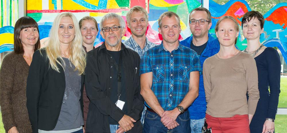 Bilde av medlemmer av forskningsgruppen