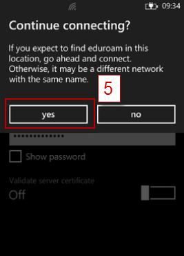 Eduroam Network