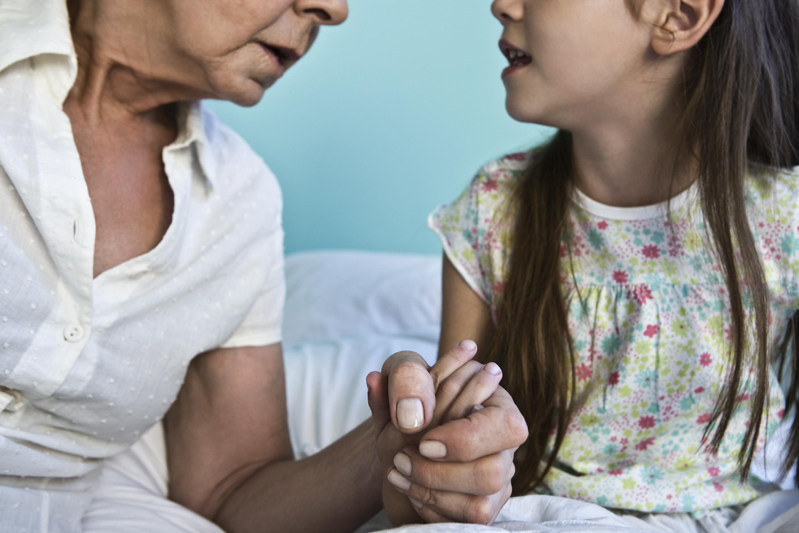 Det er viktig for barn å bli hørt, mener Svein Arild Vis. Illustrasjonsfoto: Colourbox