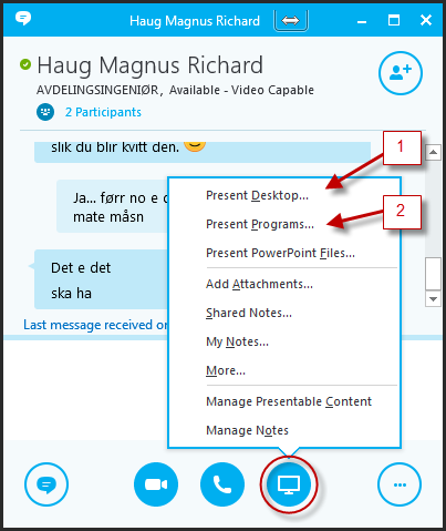 Skype for Business (tidl  Lync) | UiT
