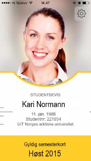 Studentkort | Semesterstart Student