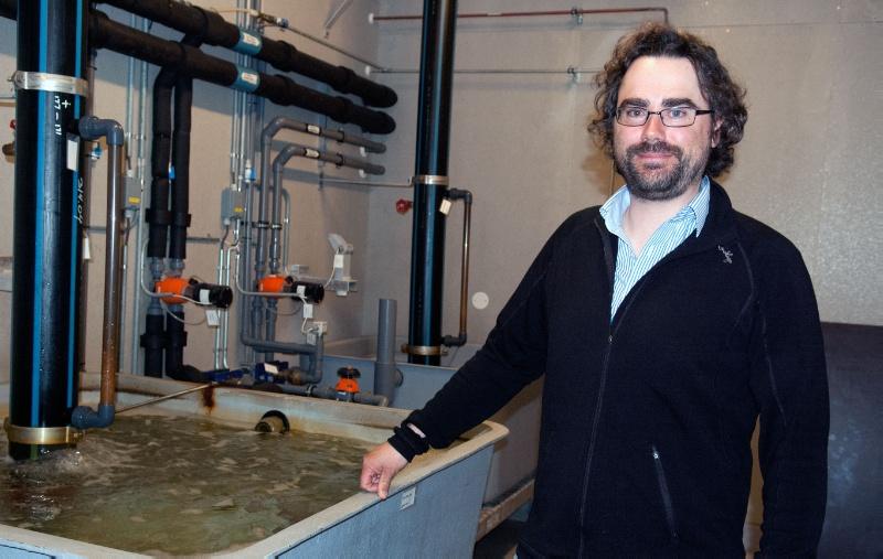 Sébastien Barrault er forskningskoordinator i Kings Bay.