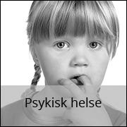 psykisk helse for barn og unge