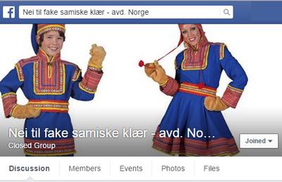 Nei til fake sameklær