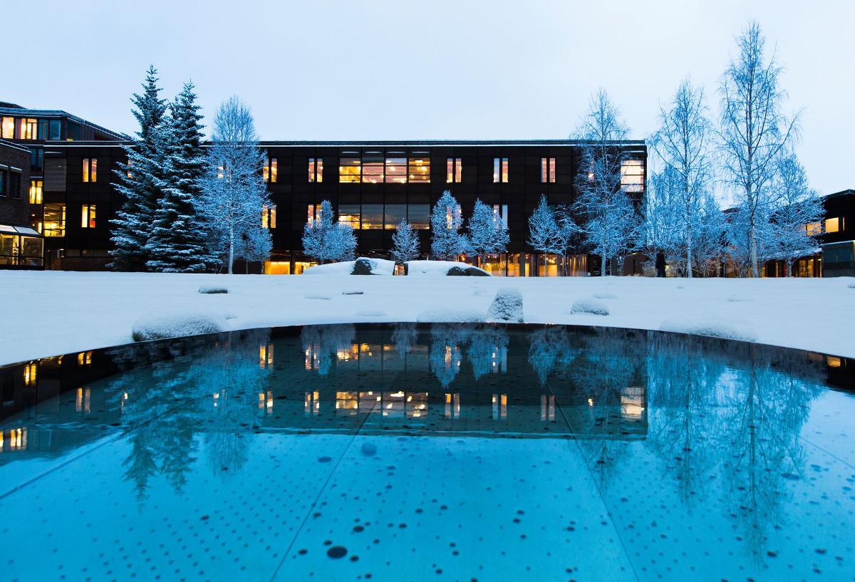 Campus Tromsø, Labyrinten, vinter