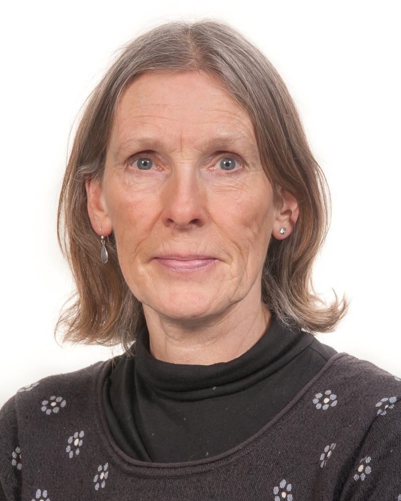 Portrettbilde av Bårnes, Vibeke