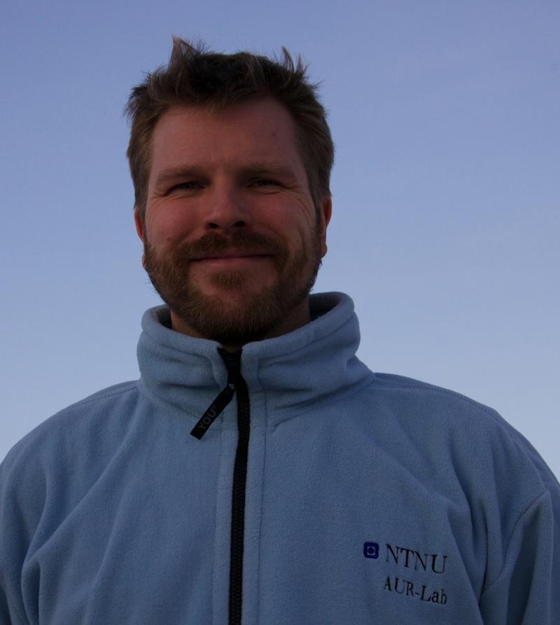 Øyvind Ødegård er marinarkeolog ved NTNU. Foto: Privat