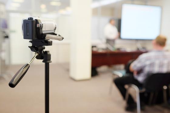 Kamera filmer foredrag