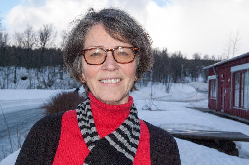 Astrid Elisabeth Revhaug har engasjert seg i diskusjonen om hvordan UiT kan bidra til å integrere flyktninger. Foto: Karine Nigar Aarskog