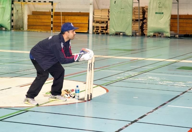 Muhammed Bilal er leder for cricketklubben i Tromsø. Foto/video/redigering: Karine Nigar Aarskog