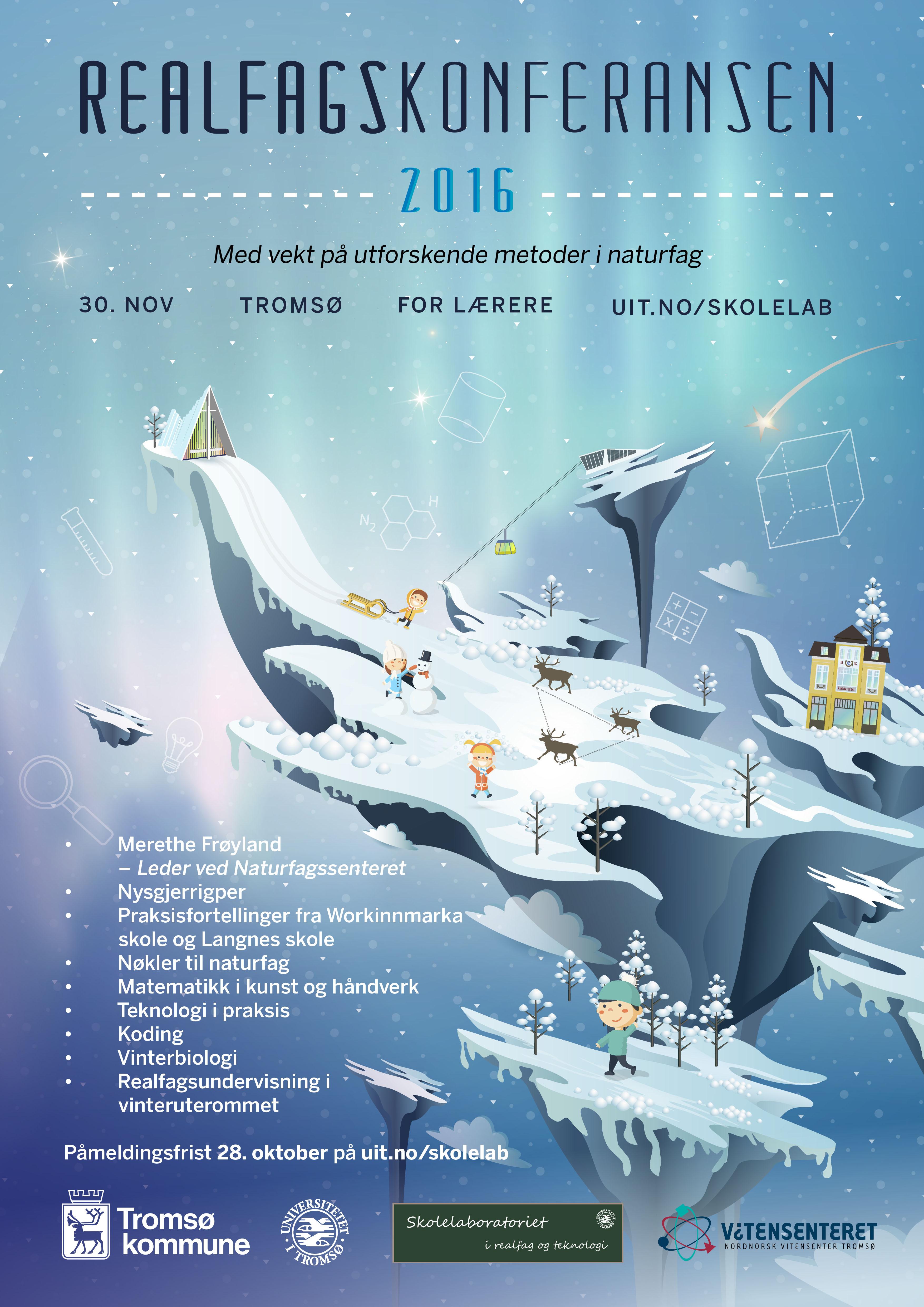 Realfagskonferansen Plakat