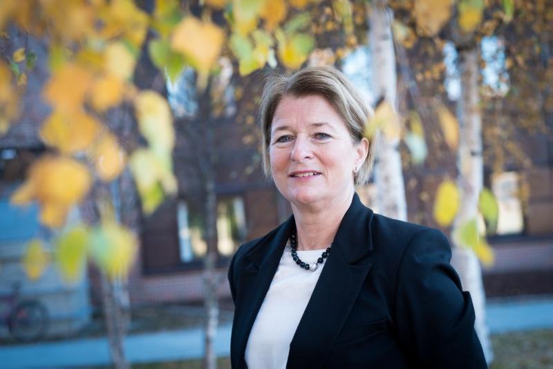 Anne Husebekk er rektor ved UiT og har selv studert her.