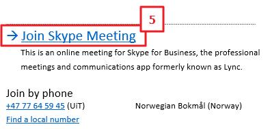 Skype for Business (tidl  Lync) | UiT