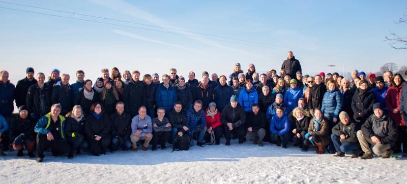 Du vil garantert høre mer fra prosjektet Arven etter Nansen de kommende årene. Forskere fra universitetene i Bergen, Oslo og Tromsø, Universitetssenteret på Svalbard, Polarinstituttet, Meteorologisk institutt, NTNU, og Havforskningsinstituttet var samlet til det første allmøtet i februar.