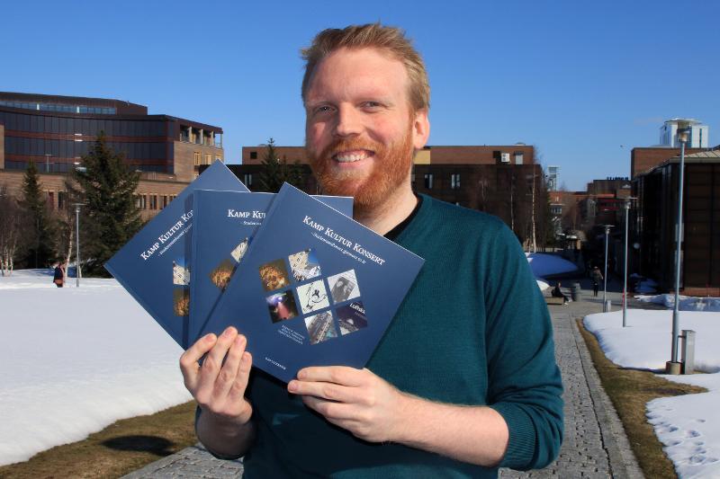 Magnus Andersson er en av forfatterne bak jubileumsboka.
