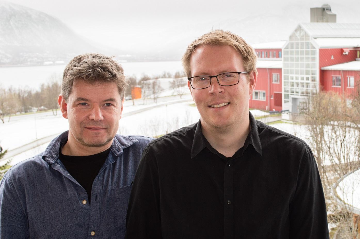 Nils Johan Lysnes og Jan Ketil Petersen ved ITA.