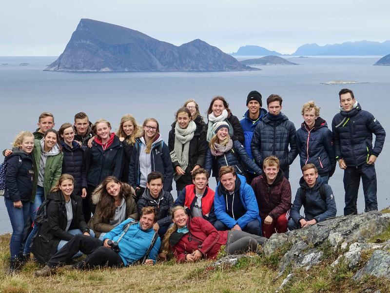 Nederlandske ungdommer besøker UiT hver høst for å lære om natur.