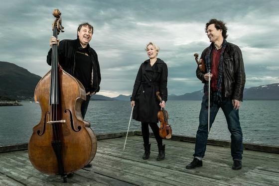 Strykelærere på Konservatoriet i Tromsø; Knut Erik, Karen og Atle