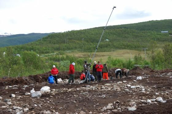 Feltarbeid, utgravning
