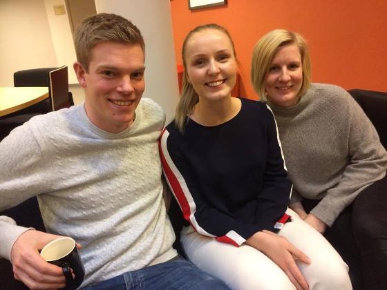 Lars Horvei, Hanne Skille og Erin M. Hald var fornøyde med TREC-seminaret