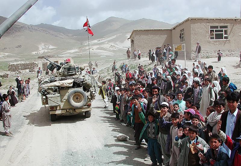Forskningsprosjektet skal blant annet se på konflikten i Afghanistan.