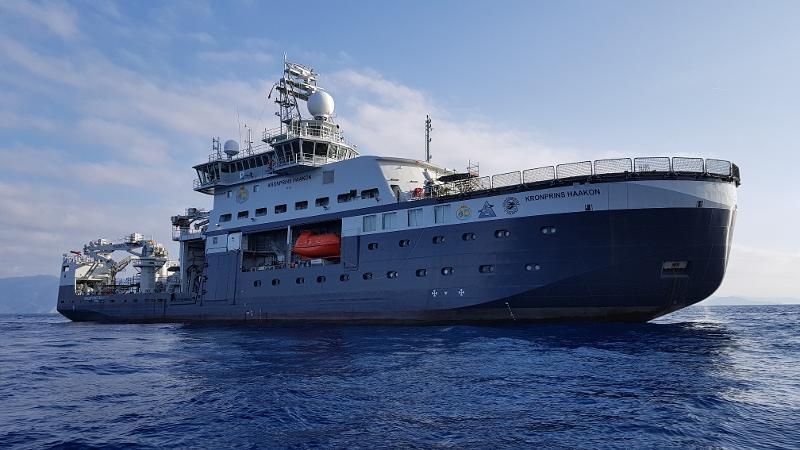 Kronprins Haakon er nå overtatt av Havforskningsinstituttet og skal etter planen ferdigstilles i juni.