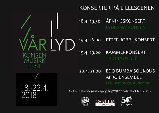 Konserter under Vårlyd på Kulturhuset
