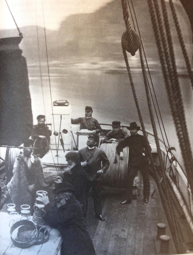 gammelt bilde fra båt