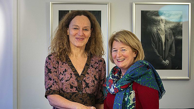 Acmilla Stoltenberg og Anne Husebekk. Foto: David Jensen