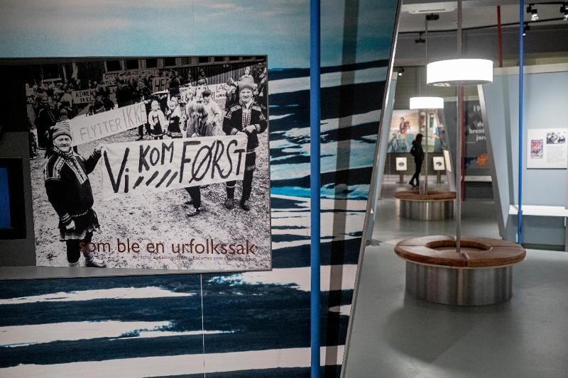 <p>Utstillingen beskriver framveksten av den moderne Samebevegelsen.</p>