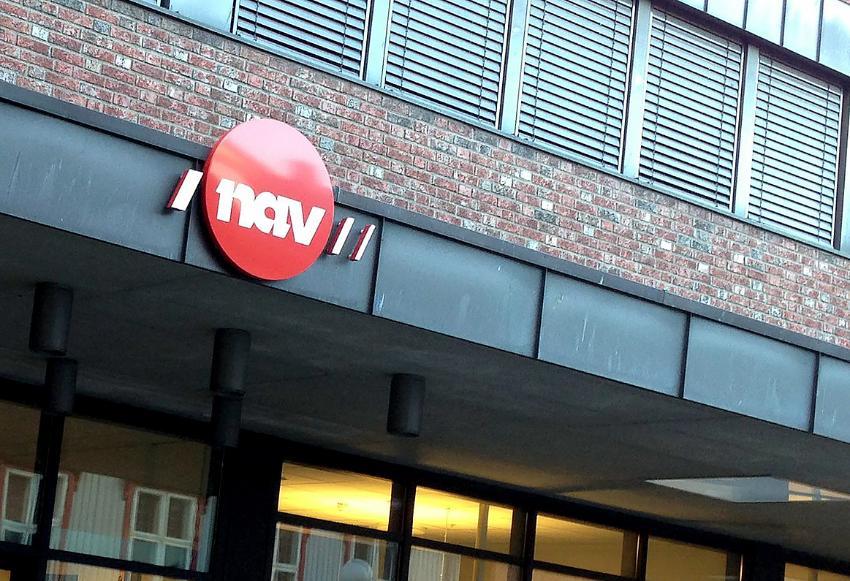 Utsiden av et NAV kontor