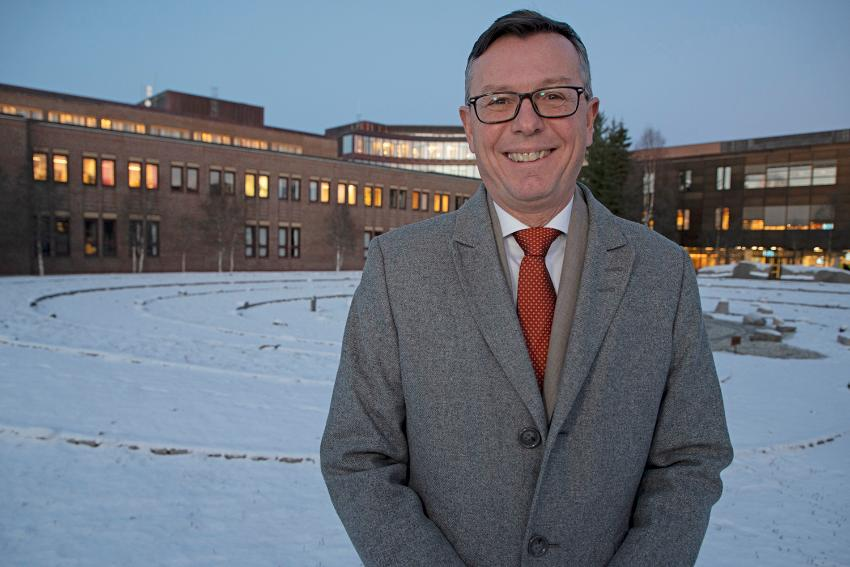 Dag Rune Olsen, campus Tromsø, Labyrinten