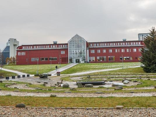 Administrasjonsbygget ved UiT i Tromsø