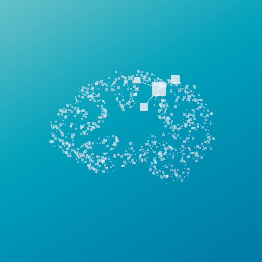 Logo Visual Intelligence, UiT Norges arktiske universitet