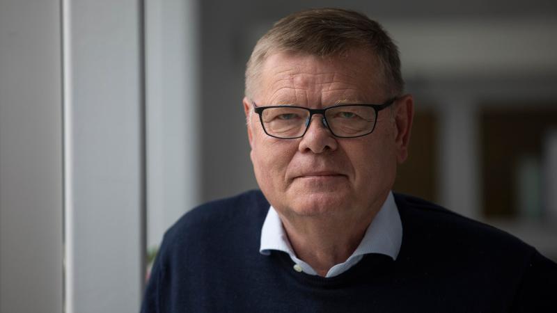 Professor Ørjan Olsvik. Foto: David Jensen
