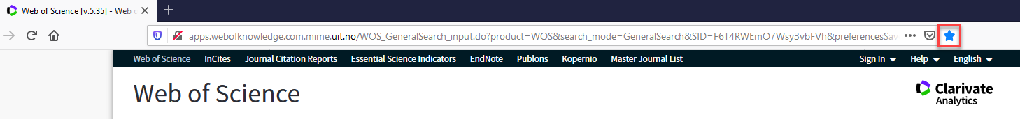 Databasesøk