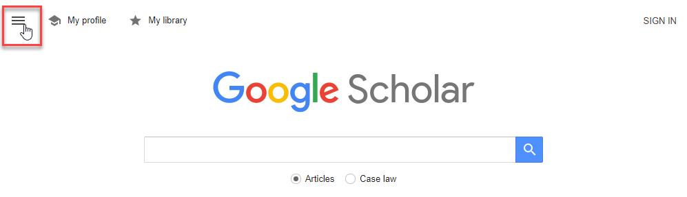 Google scholar søk