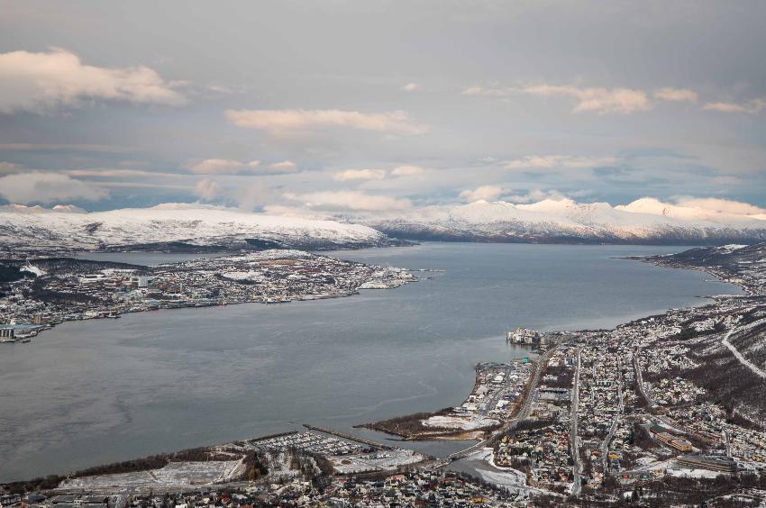 vinterbilde fra Tromsø