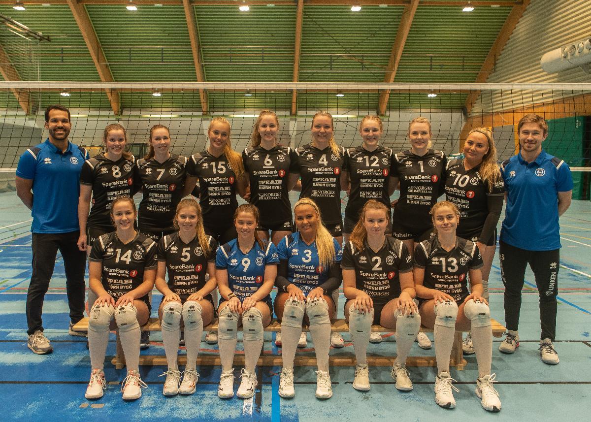 Lagbilde BKT Volley damelag 2021