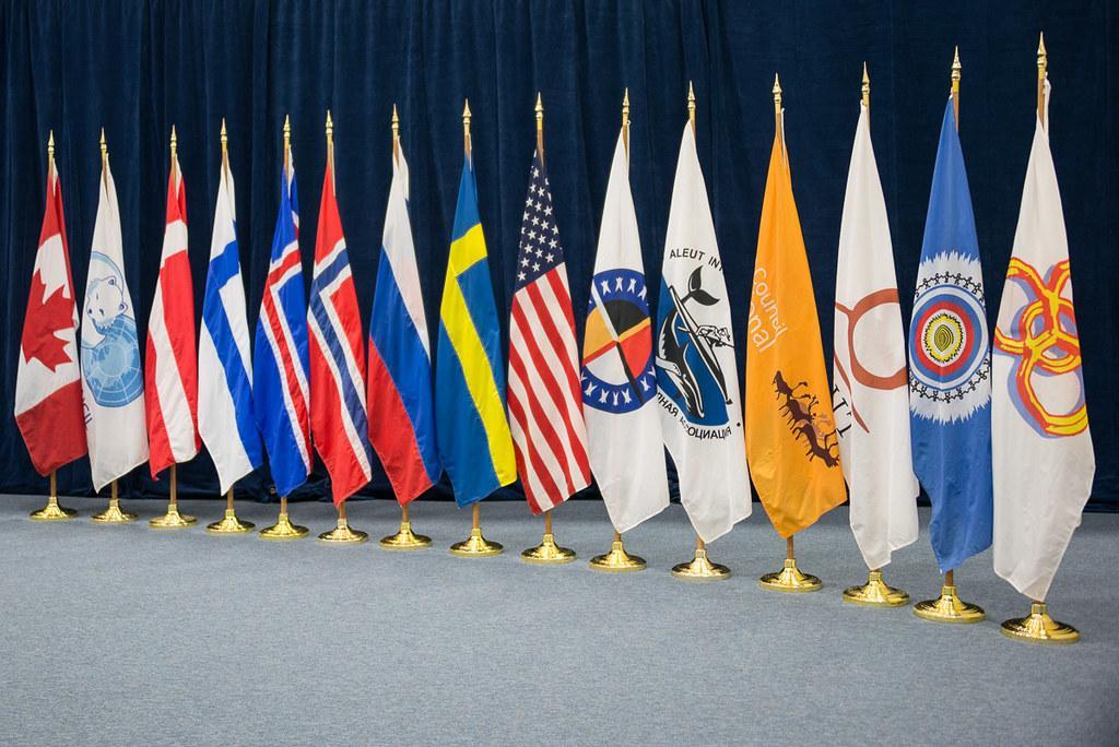 Flagg Arktisk råd