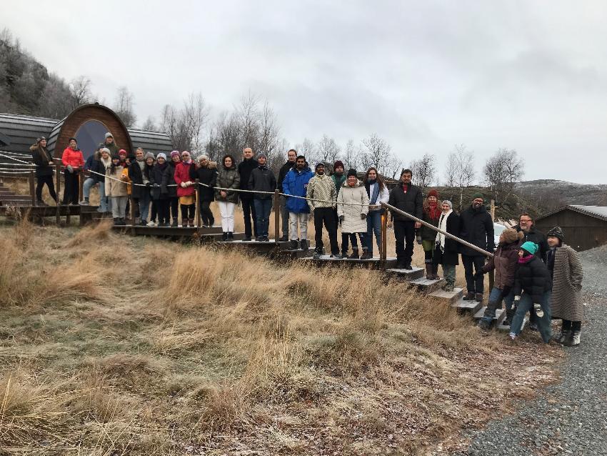 Internasjonale studenter arctic tourism