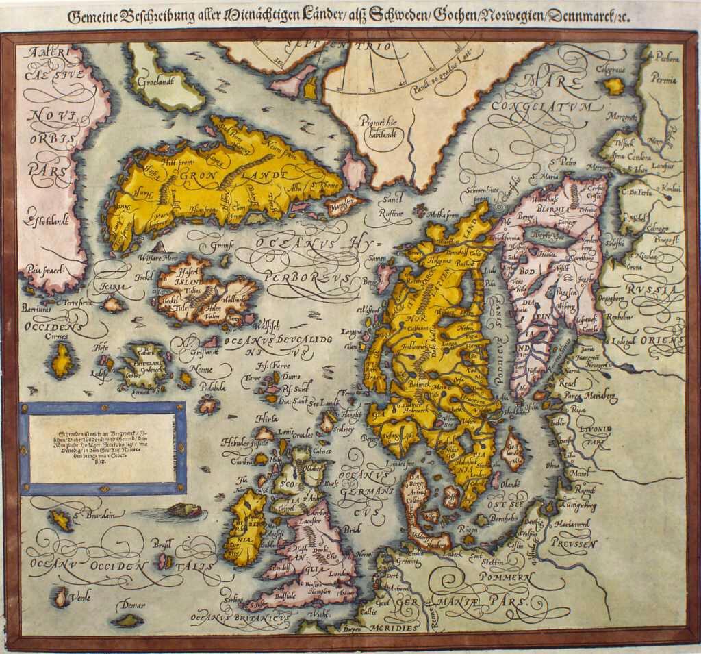 Nordområda 1588