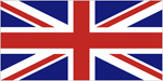 The flag of United Kingdom